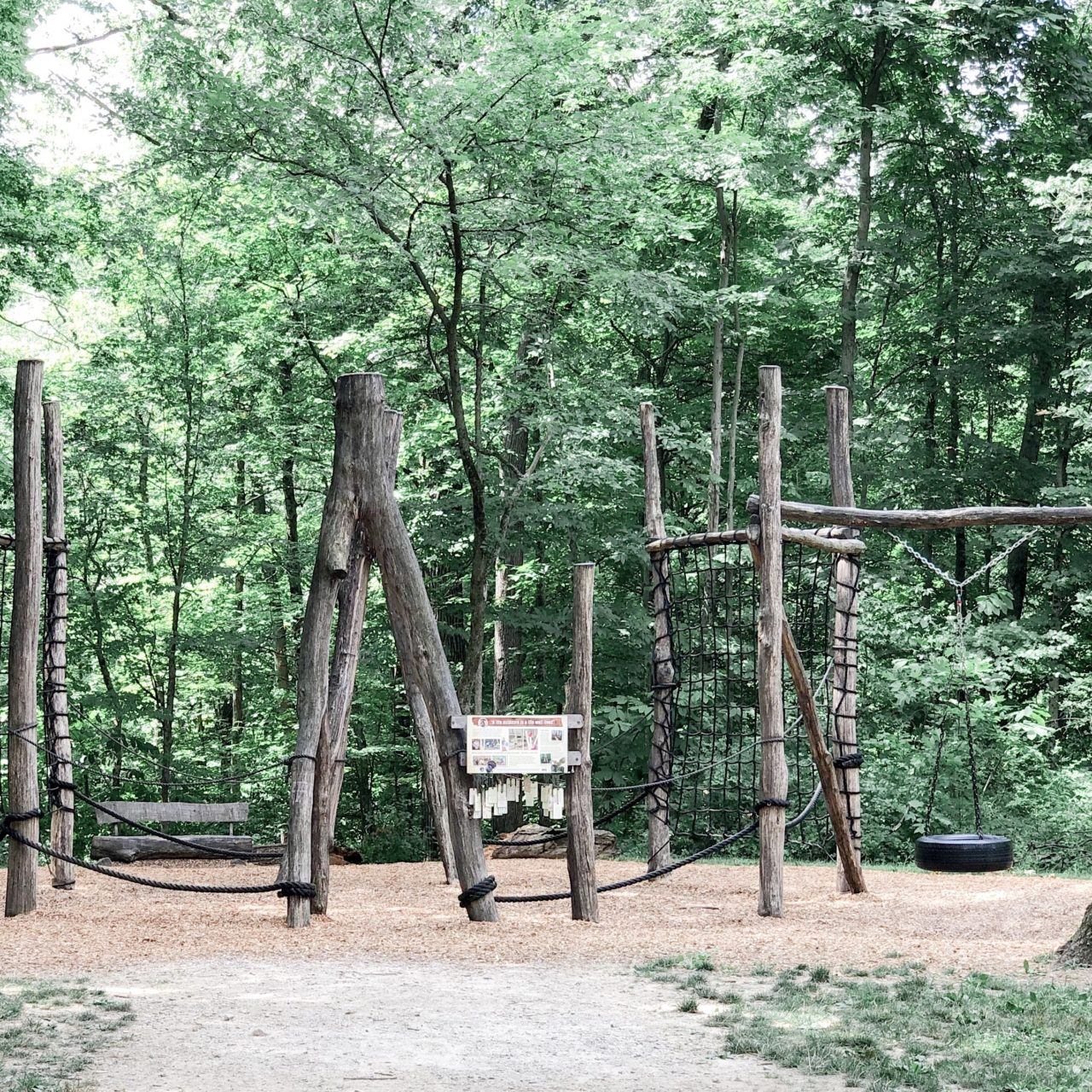 Natural Play Area at Blendon Woods Metro Park